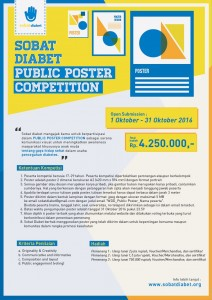 Public Poster Competition WDD 2016